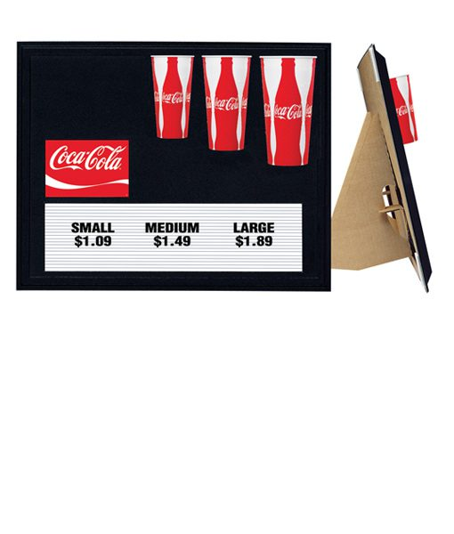 CL0284 Coca-Cola Cup Display